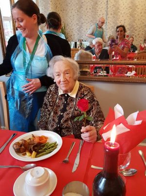Valentines at Woodlands Manor Care Home | Cedars Care Group