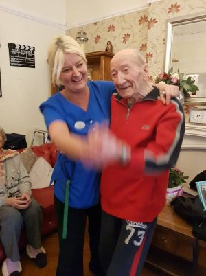Valentines at Woodlands Manor Care Home   Cedars Care Group